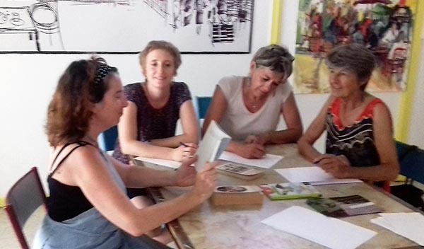 Ateliers et stages d'écriture Montpellier Adra Antigone