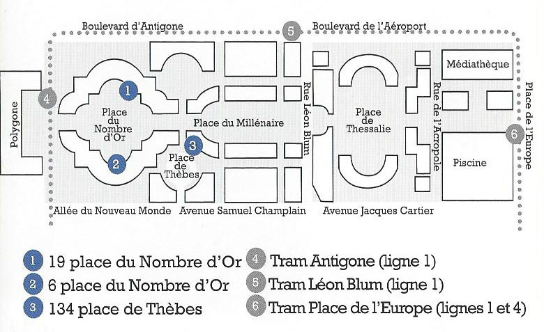 Venir à l'Adra Montpellier (34)