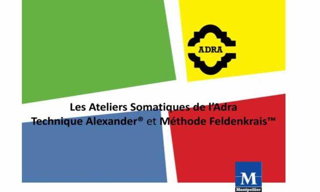 Les Ateliers Somatiques de l'Adra Dimanche 8 Juillet de 16h à 19h «le bras et l'articulation de l'épaule»  – ADRA Salle 19 Place du nombre d Or