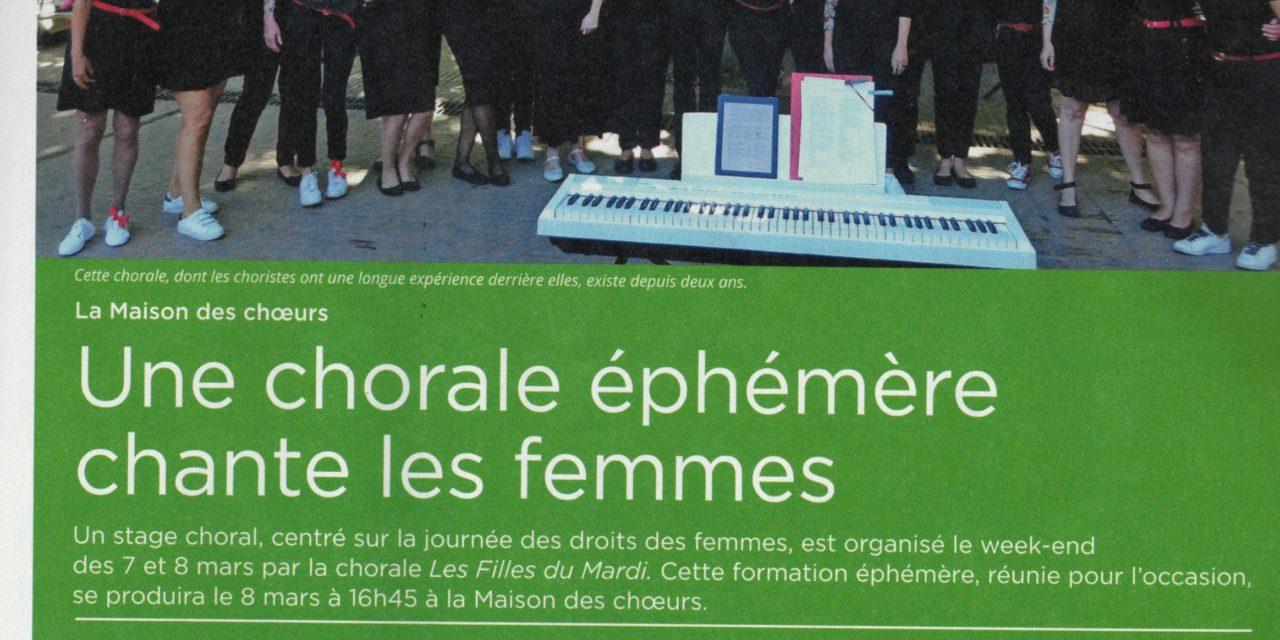Les filles du mardi dans le magazine «Montpellier notre ville»